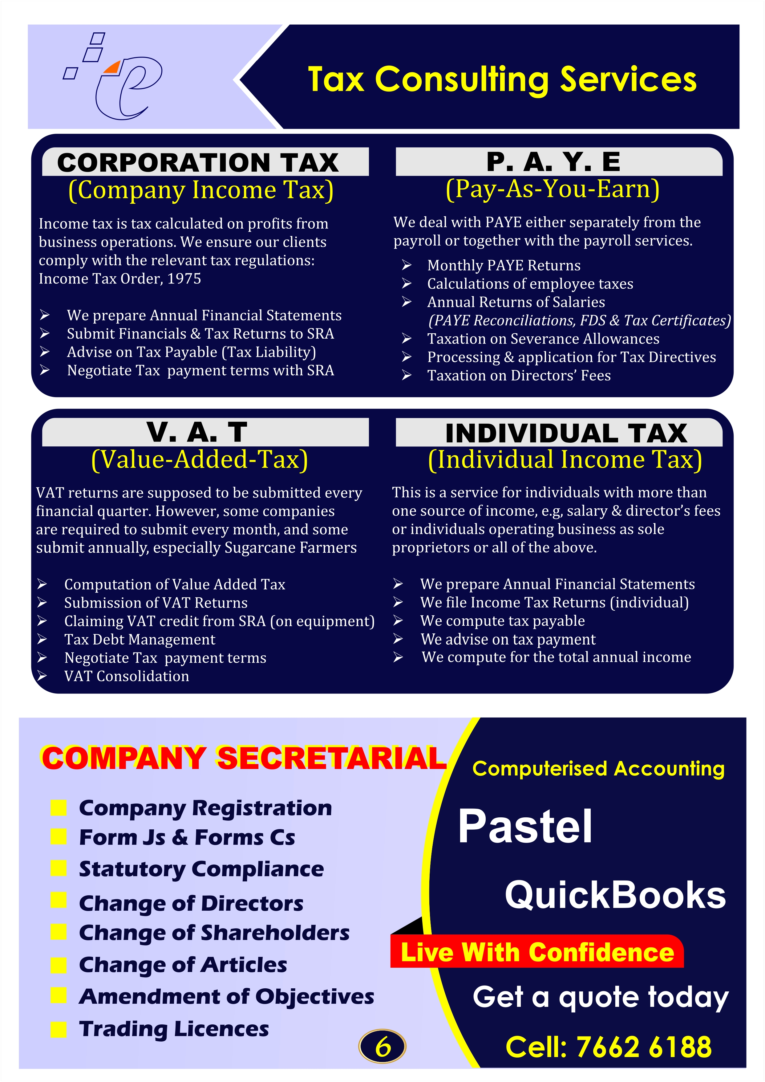 Excel Monthly Accounting Services V4.0